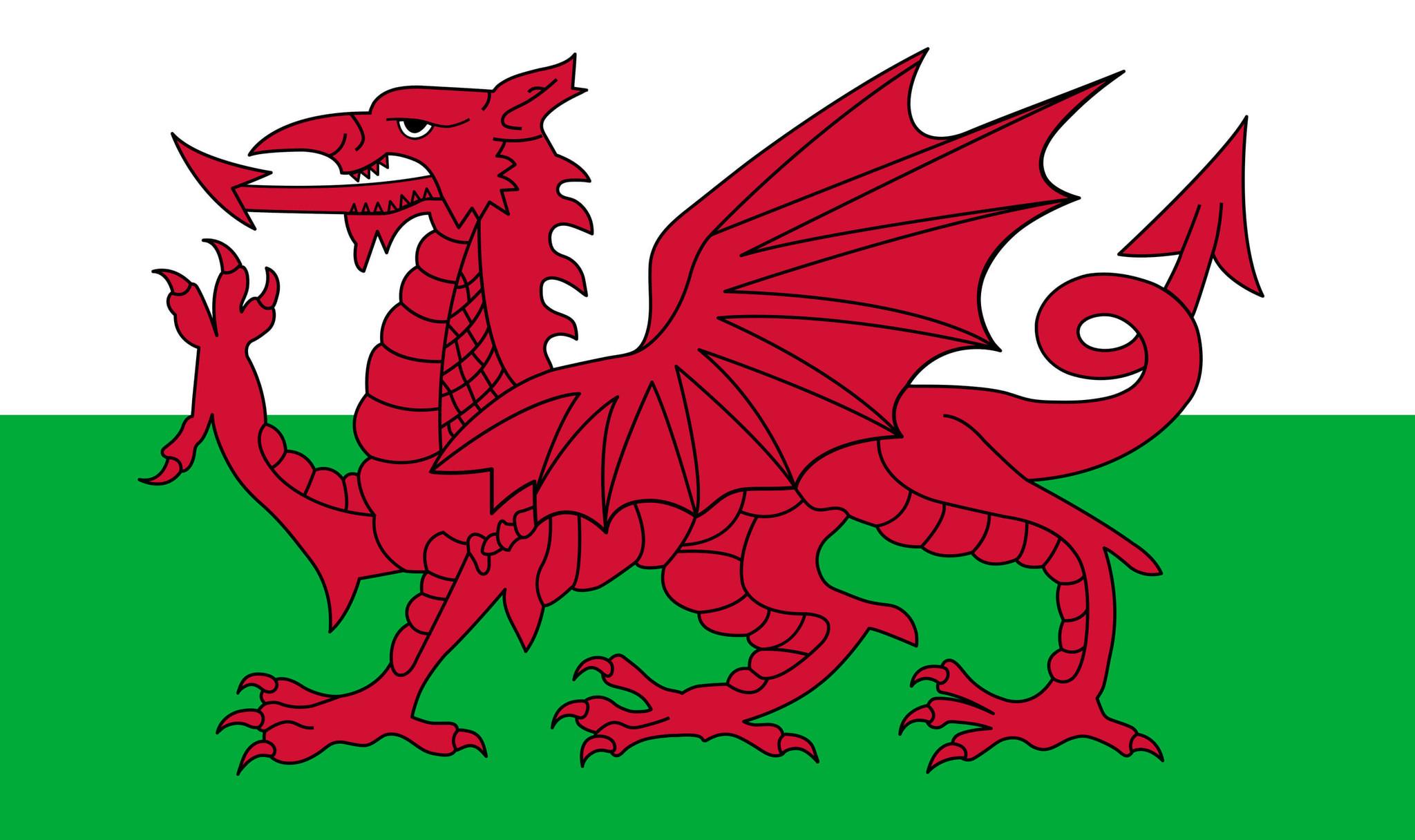 vlag wales afbeelding en betekenis welshe vlag