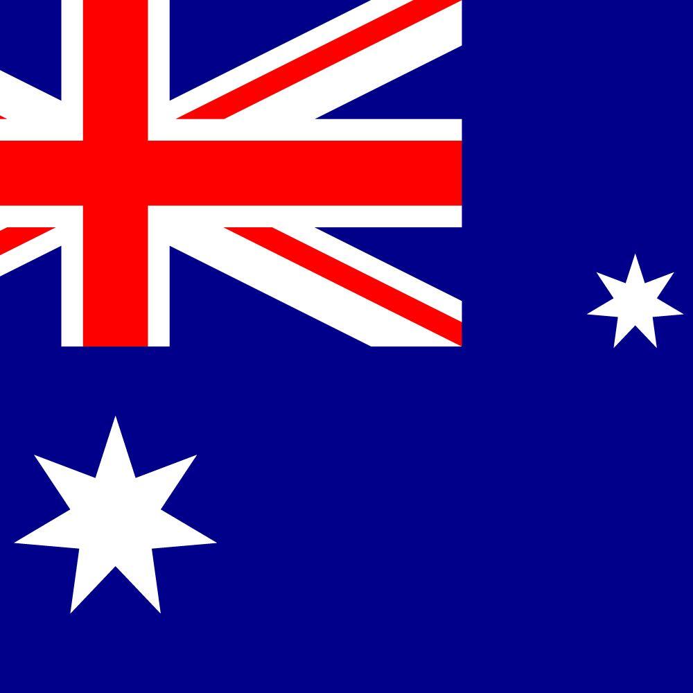 Australische Flagge Abbildung Und Bedeutung Flagge Von
