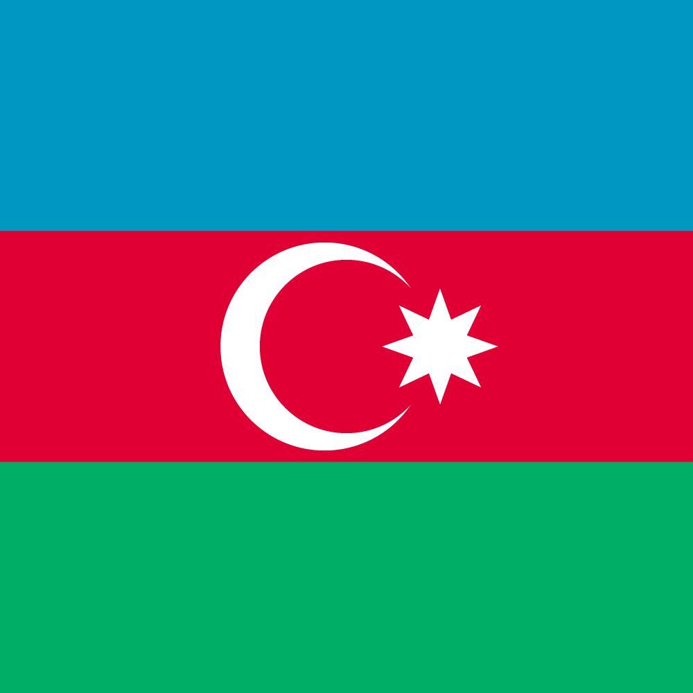 Azerbaijani Flagge Abbildung Und Bedeutung Flagge Von Aserbaidschan Country Flags