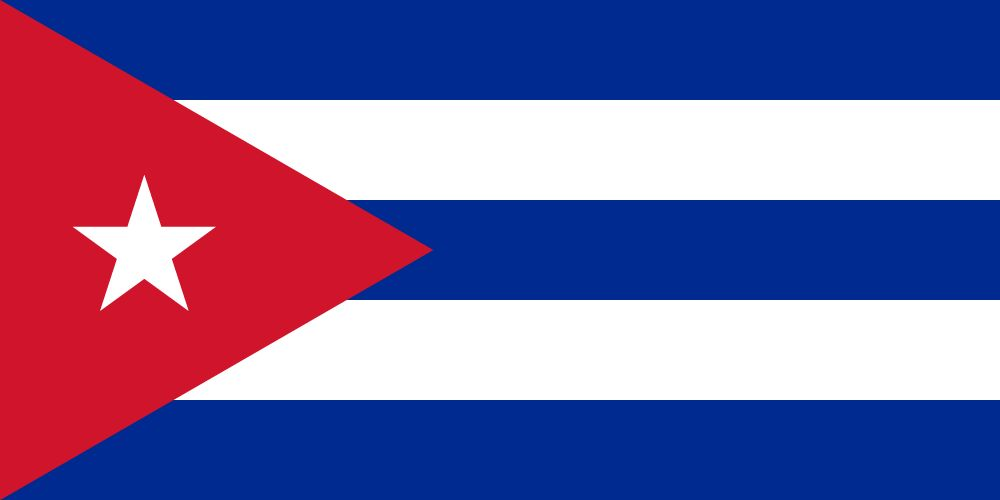 Flag of Cuba image and meaning Cuban flag - country flags