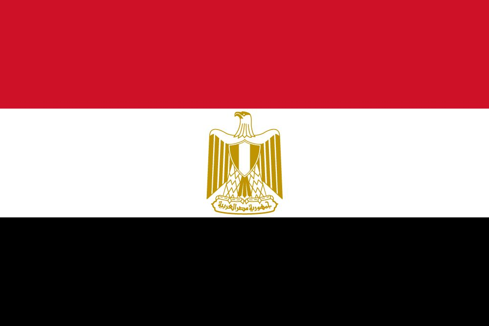 Flag of Egypt image and meaning Egyptian flag - country flags