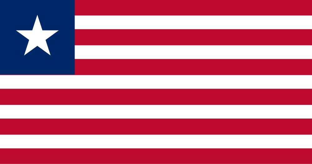 Flag of Liberia image and meaning Liberian flag - country flags