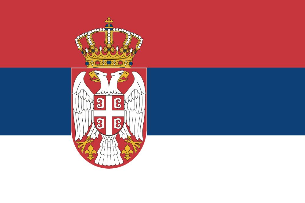 Flag of Serbia image and meaning Serbian flag - country flags