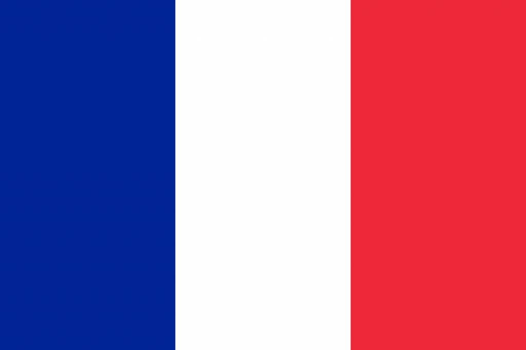 Icône drapeau français - country flags