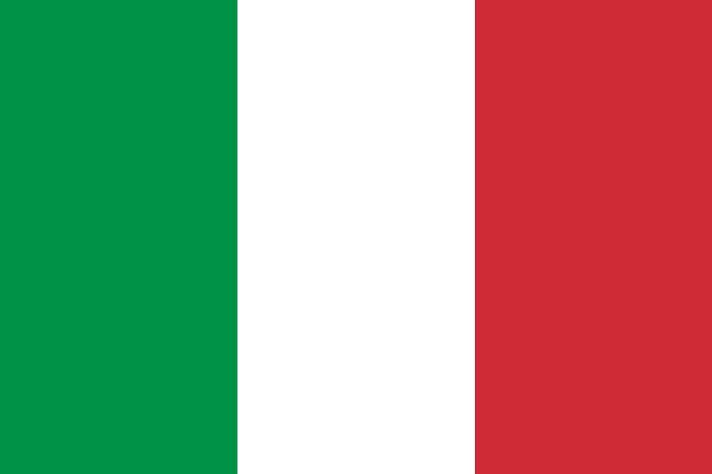 Vecteur drapeau d'Italie - country flags