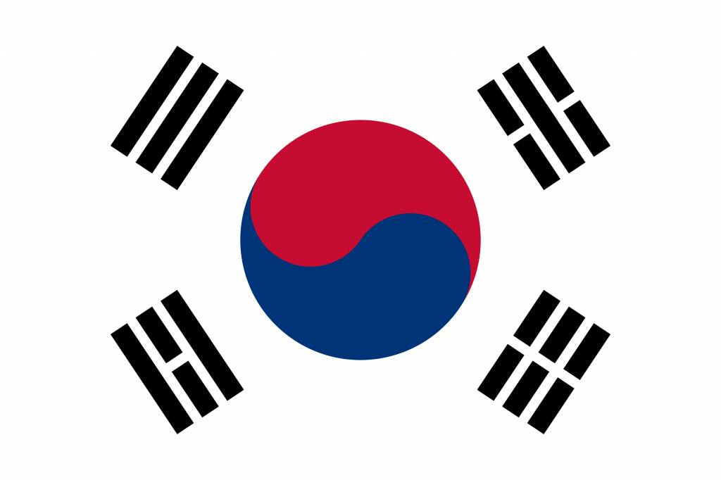 South Korea flag icon - country flags
