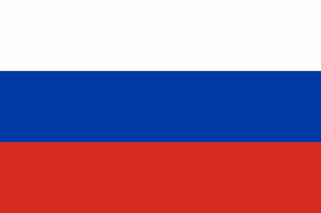 Icône drapeau de Russie - country flags