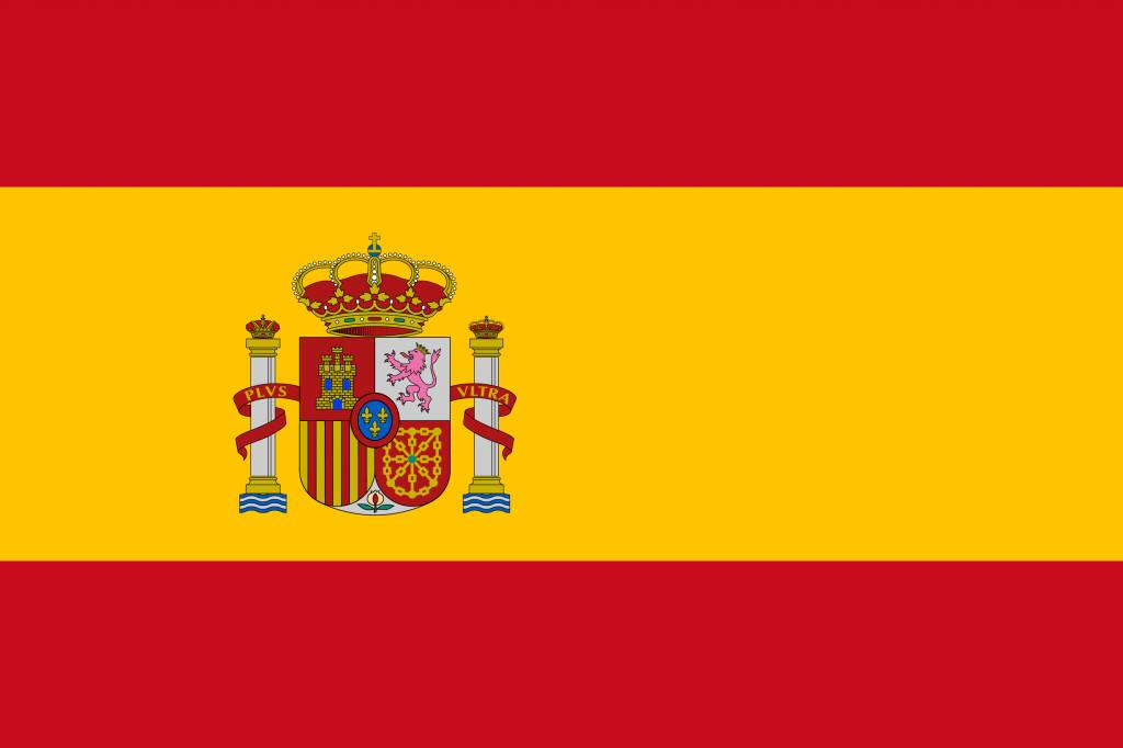 Spain flag icon - country flags