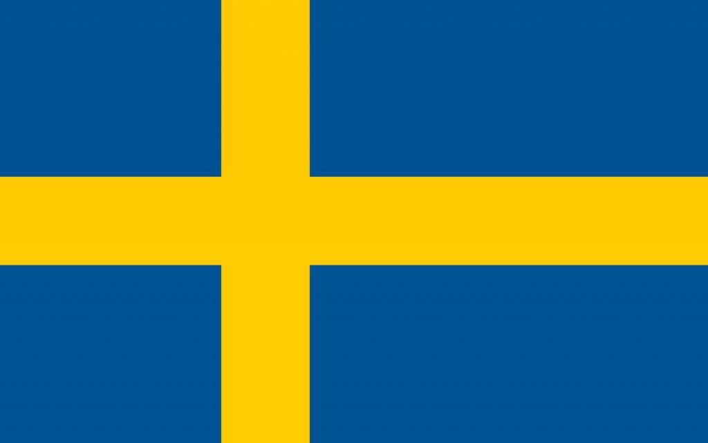Flagge Schweden Bild