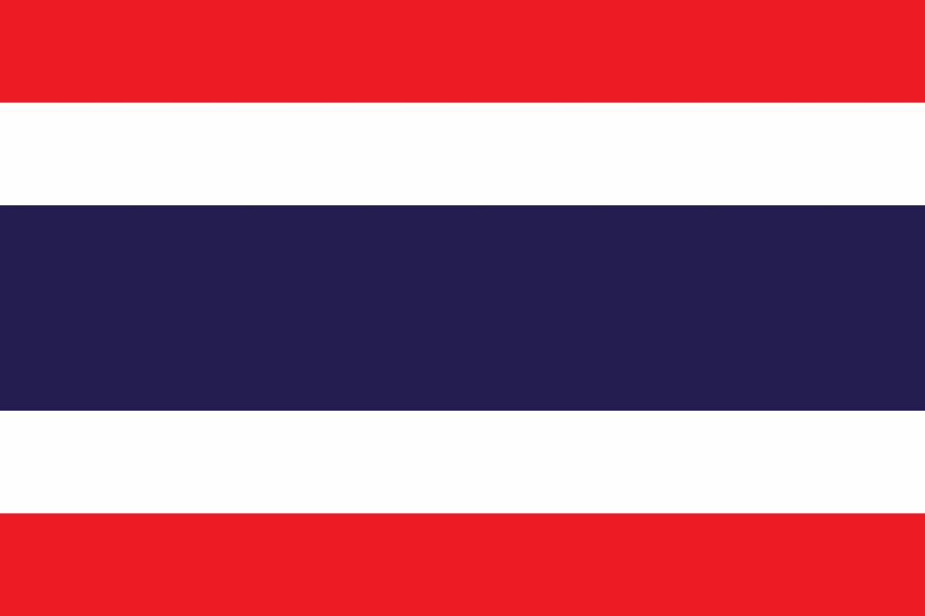 Thailand flag icon - country flags