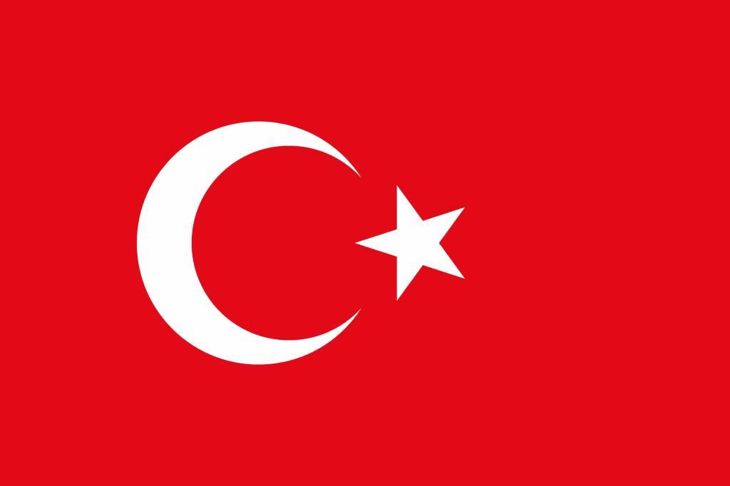 Flagge Der Türkei Vektor Country Flags