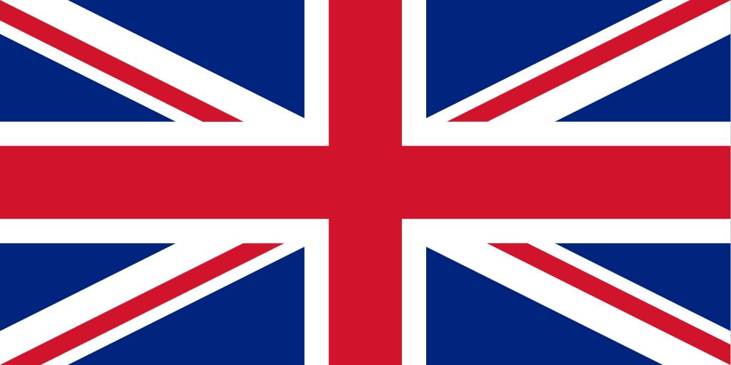 The United Kingdom flag icon - country flags