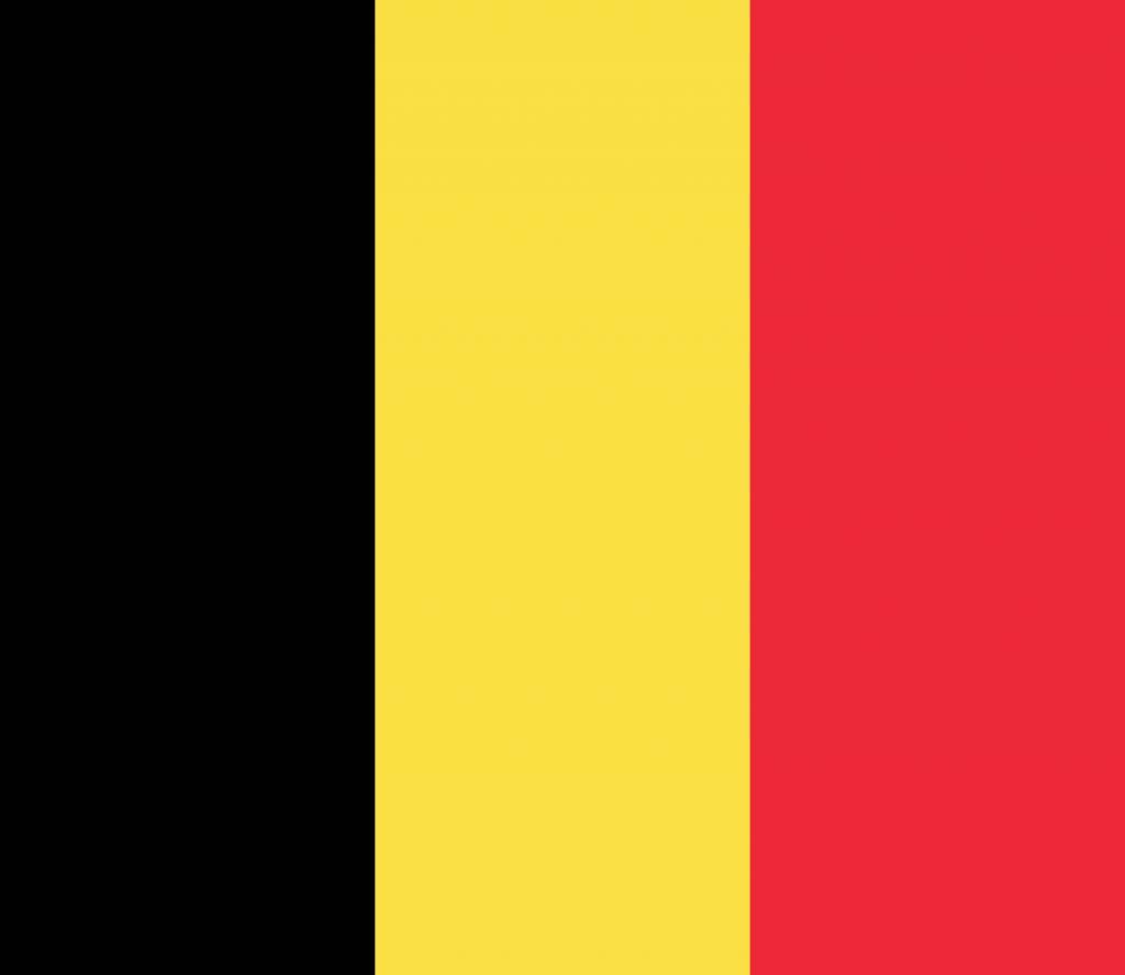 Kleurplaten Landen Europa.Belgie Vlag Kleurplaat Country Flags