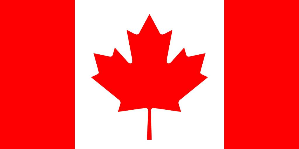 Canada Flag Coloring Country Flags