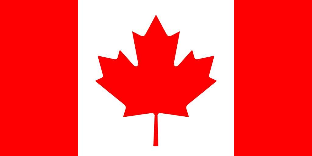 canada vlag kleurplaat country flags