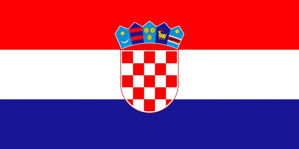 Croatia flag emoji - country flags
