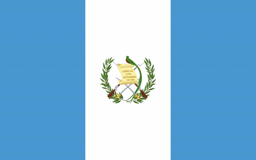 Guatemala Flag Coloring Country Flags