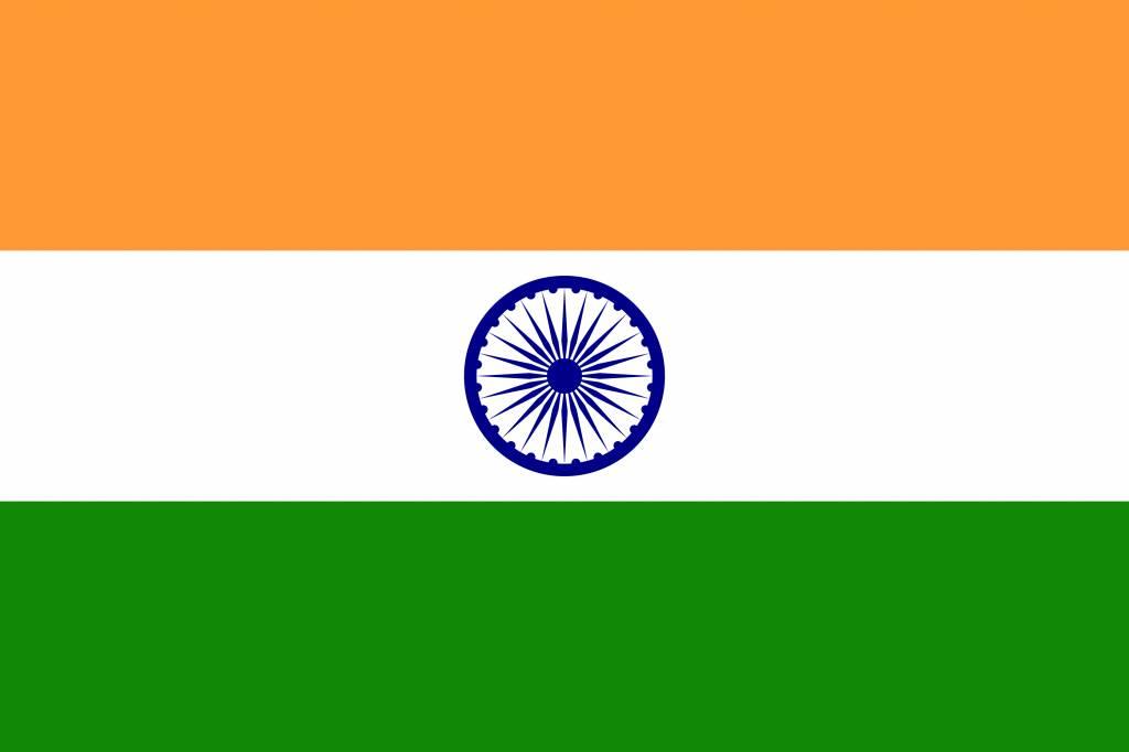 india vlag kleurplaat country flags