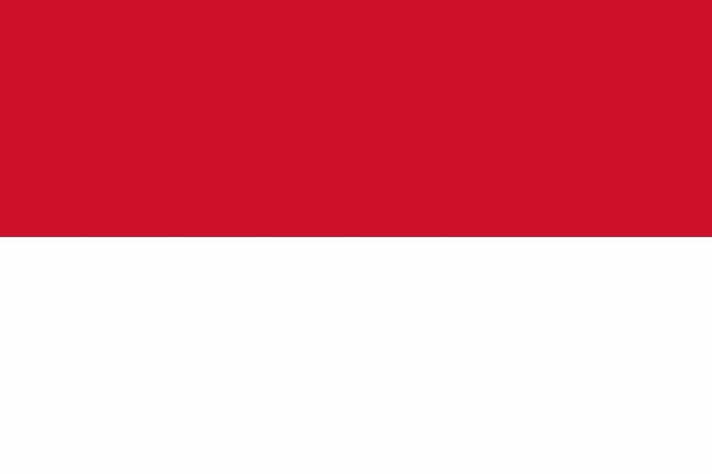 indonesi 235 vlag kleurplaat country flags