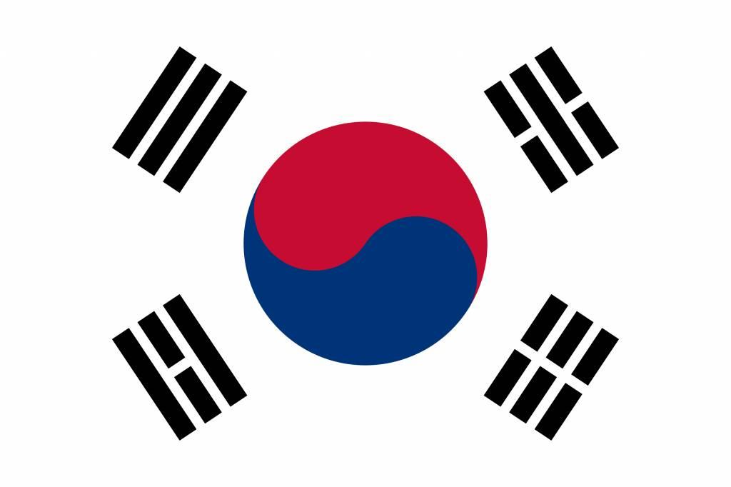 South Korea flag emoji - country flags