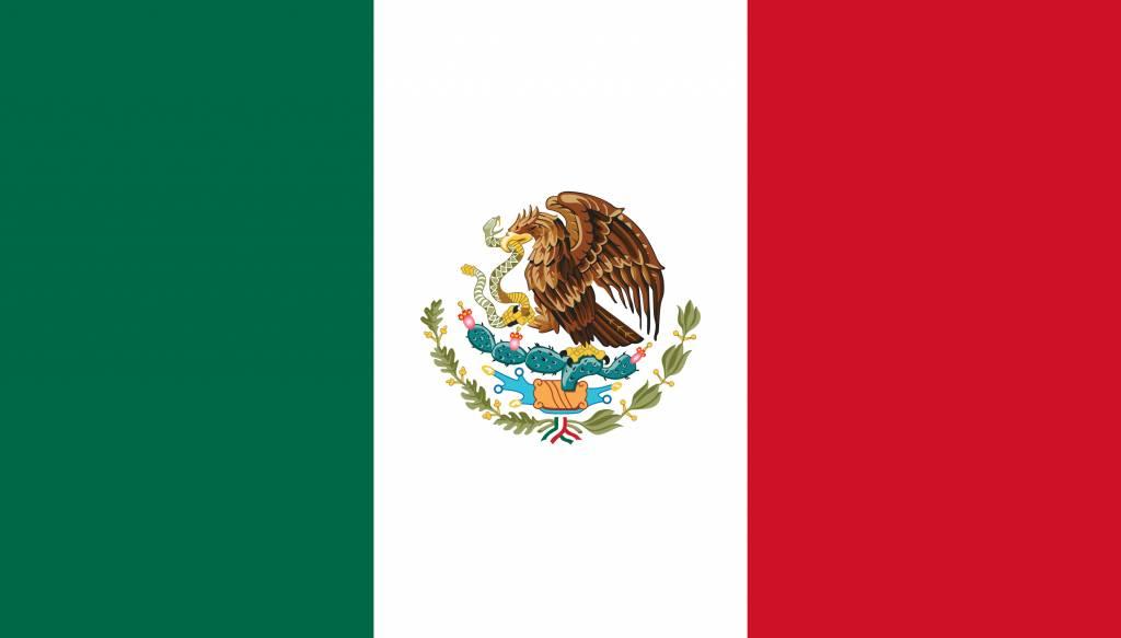 mexico vlag kleurplaat country flags