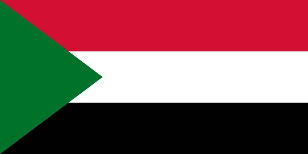 soedan vlag kleurplaat country flags