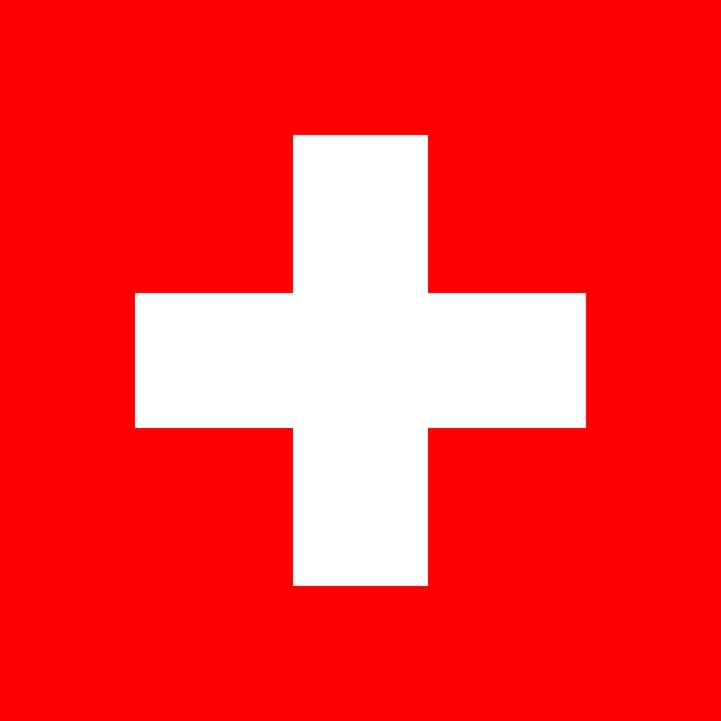 zwitserland vlag kleurplaat country flags