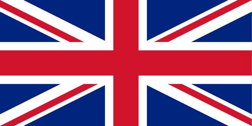 Drapeau Anglais à Colorier Country Flags