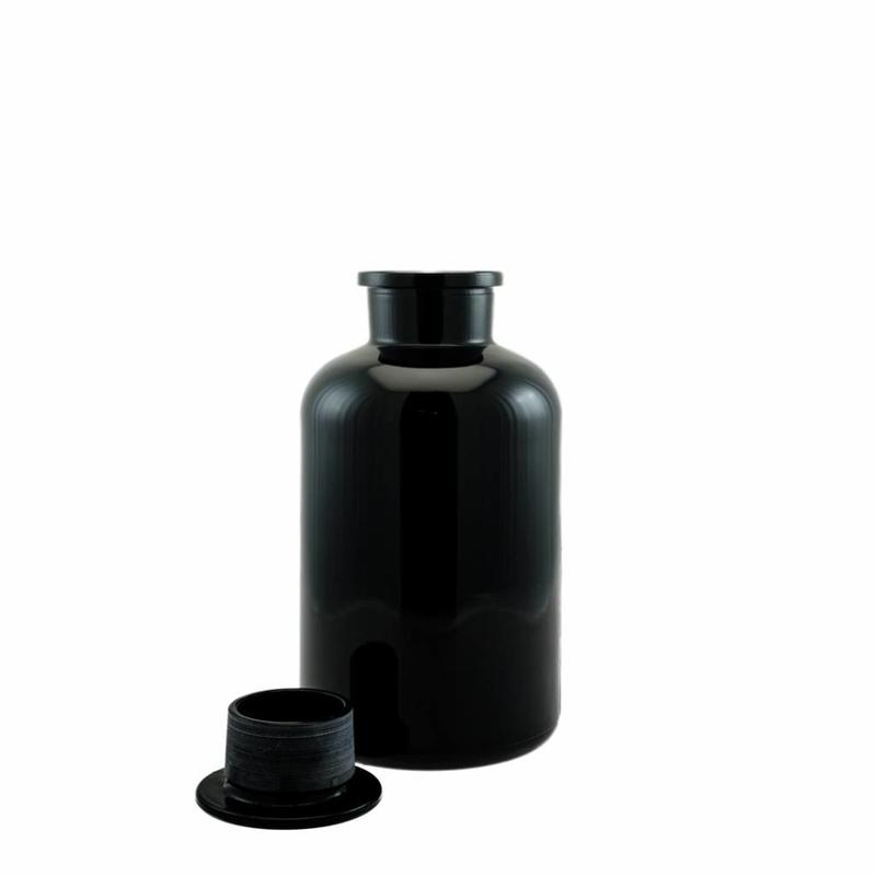 Miron UV Miron UV glass apothecary's bottle with 2000ml inzetdop