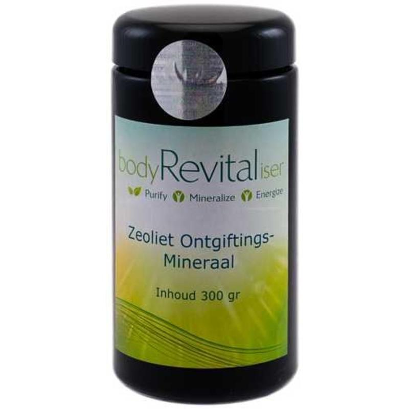 bodyRevitaliser Bevrijdt Je lichaam van schadelijke stoffen met Zeoliet-Ongiftingsmineraal en dat op natuurlijke wijze.