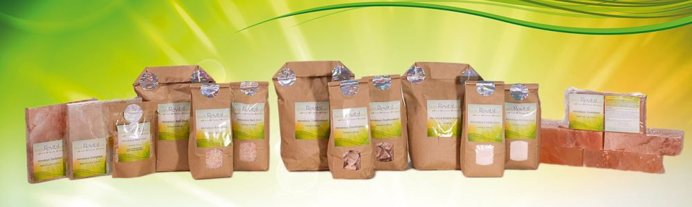 bodyRevitaliser - Himalaya-Salzprodukte