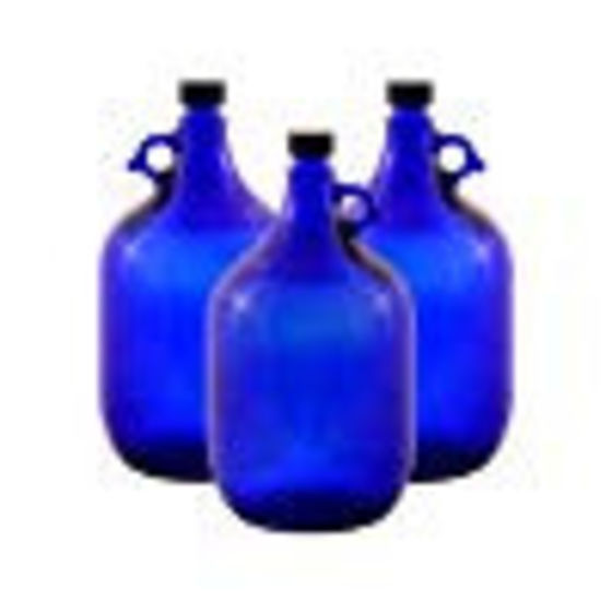 Blue-violet Gallon Bottle