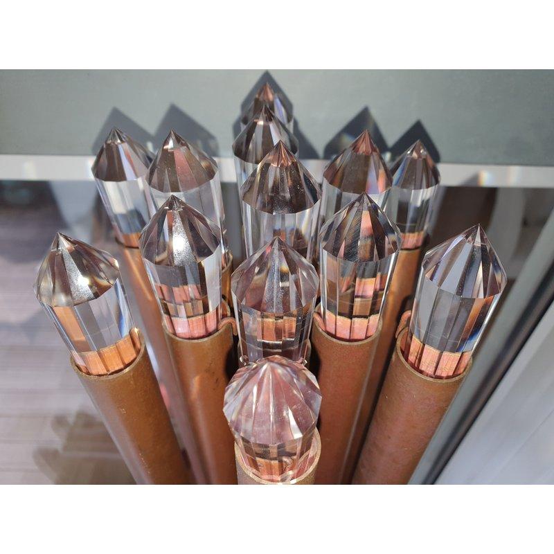 bodyRevitaliser Set 13 St.  Dubbelpunt-LEMURIA-Kristallen voor de Atmosferische Harmonisator