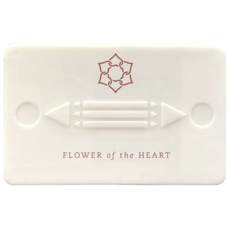 Flower Of The Heart Flower Of The Heart Harmony Card