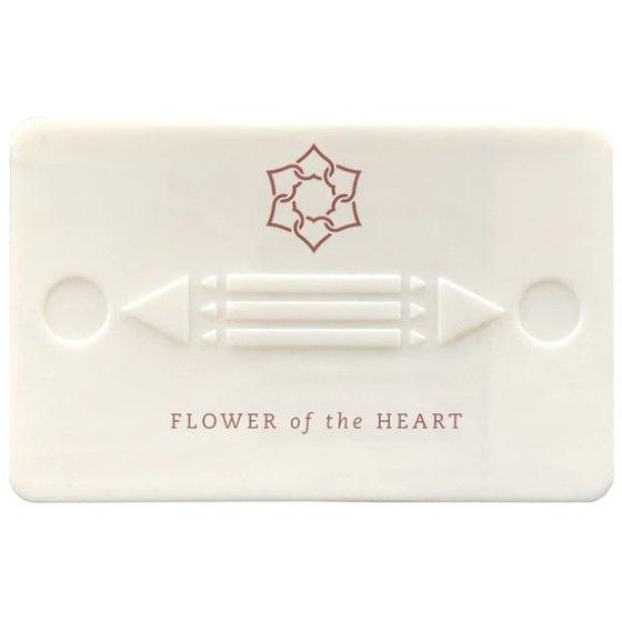 Flower Of The Heart Harmony Card