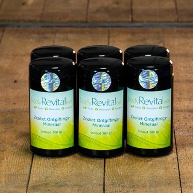 bodyRevitaliser Now provide Your customers with Zeolite Detoxification Mineral to naturally free their body of toxins.
