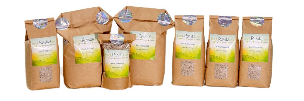 Energize Your Body with the super healthy bodyRevitaliser Organic Chia Seed