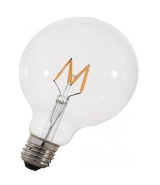Retrofit Grote Bol Ledlamp E27  3 Watt, dimbaar