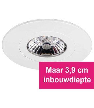 LED inbouwspot Gyro 8W, dimbaar en 360 graden richtbaar