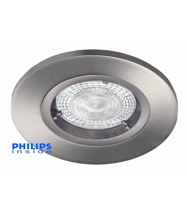 Philips LED inbouwspot 4,9W (50W), dimbaar