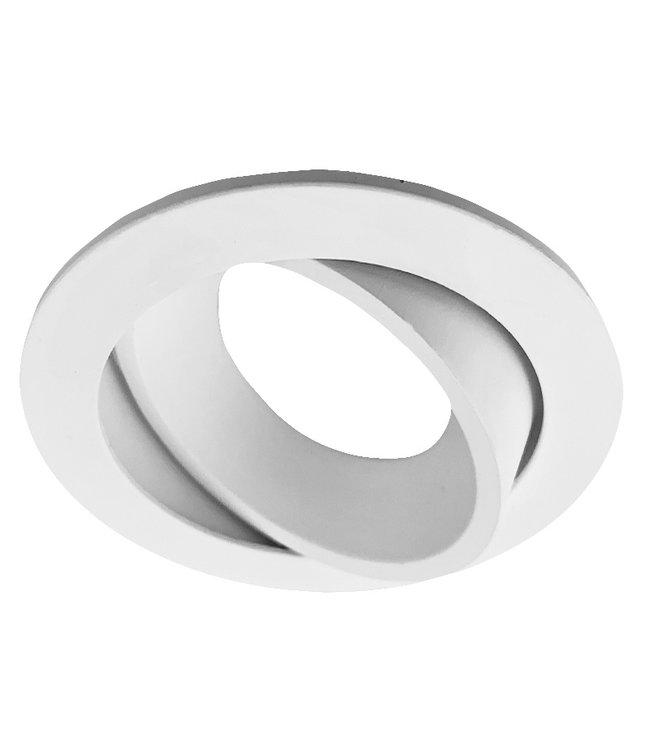Inbouwspot armatuur kantelbaar - Witte uitvoering