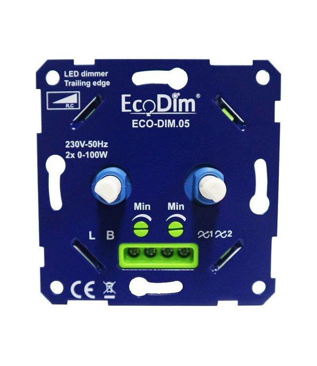 Led DUO Dimmer 2 x 0-100 Watt