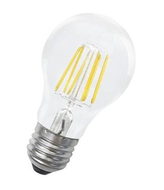 Bailey Kaars LED lamp, 'gezellig' 6 Watt, Warmwit, grote fitting E27. Filament lamp