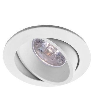 LED inbouwspot 5W dimbaar, kantelbaar. Wit