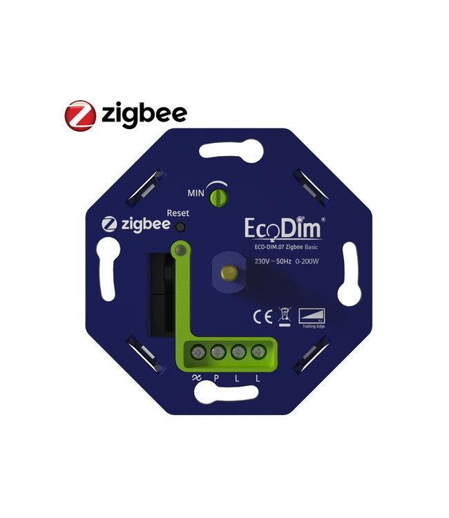 Ecodim Zigbee - Led dimmer Basic druk/draai 0-200W