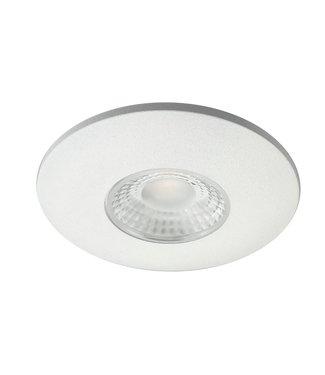 Cabinet Led inbouwspot warm wit, witte uitvoering. IP44