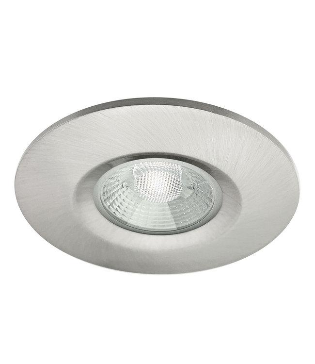 Badkamer LEDspot Venetië 6 Watt, IP65 Dimbaar, rvs uitvoering, Warm wit licht
