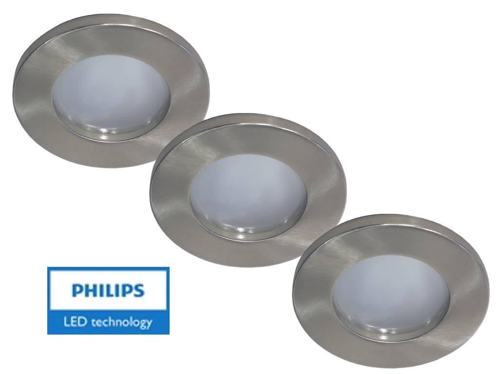 Philips set van stuks badkamer inbouwledspot v w arm spot