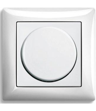 Busch - Jaeger Afdekplaat, knop en raam -Balance- tbv Bucsh & Jaeger dimmer