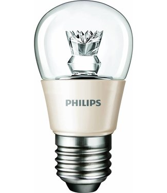 Philips Ledluster Bol led 3,5 Watt, dimbaar, E27 fitting (grote fitting)
